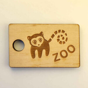 Keychains for the zoo by Vizinform