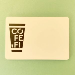 """CofeFl"" badge by Vizinform"
