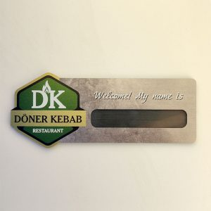 """""""Doner kebab"""" badge by Vizinform"""